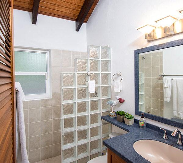 Salle de bain Villa Arcadia à St-Martin