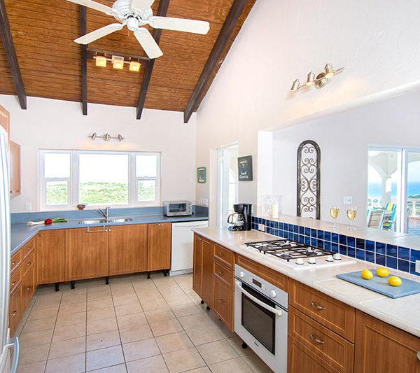 Cuisine Villa Arcadia à St-Martin