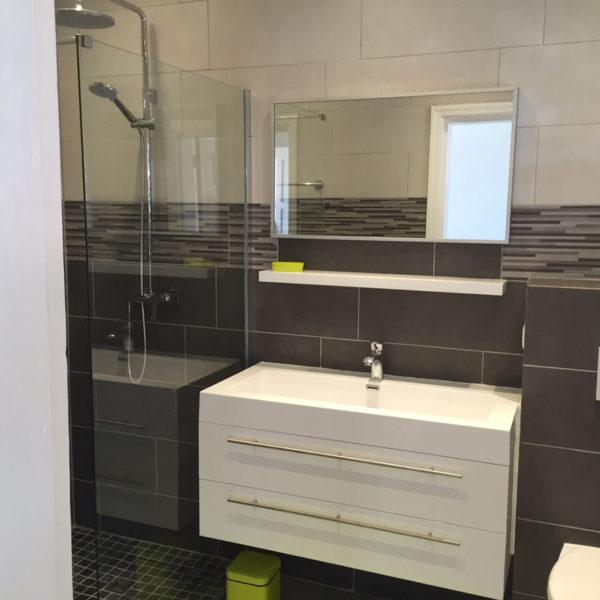 Salle de bain Villa Coralita à St-Martin